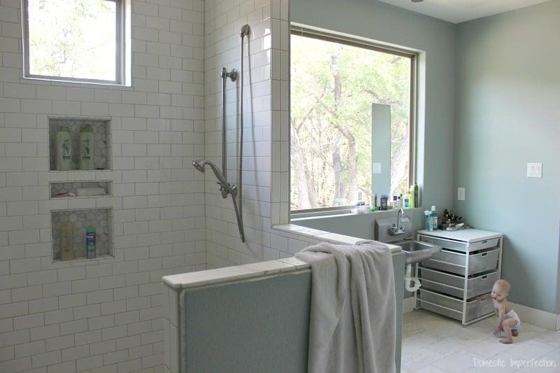 spa master bathroom