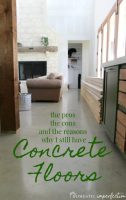 concrete floors as a temporary flooring solution