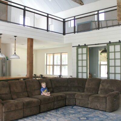 Living Room Progress + Dreaming