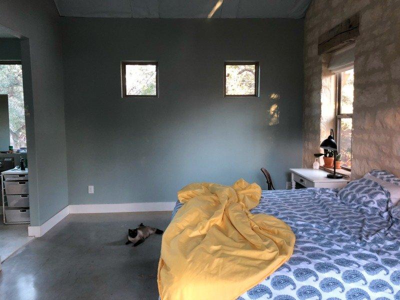 bedroom before modsy