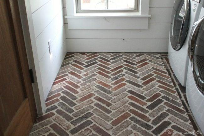 brick paver flooring