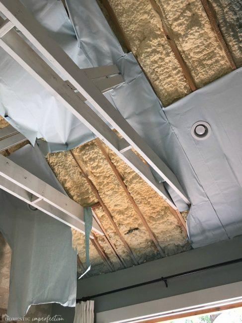 falling apart ceiling
