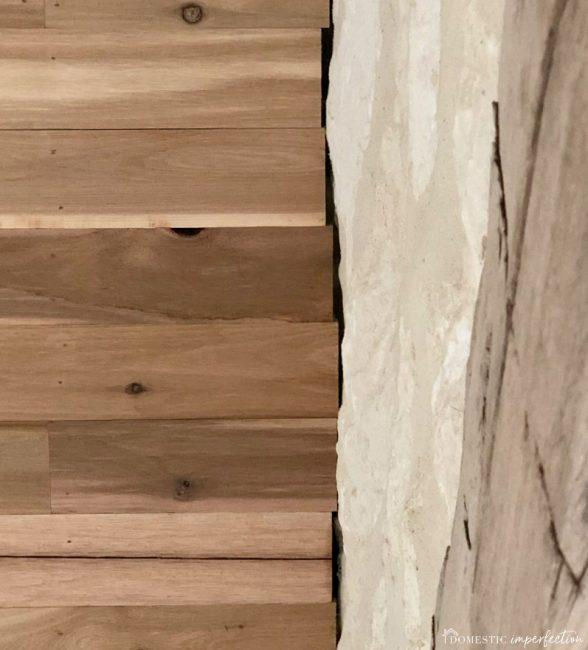 how to caulk stone and wood