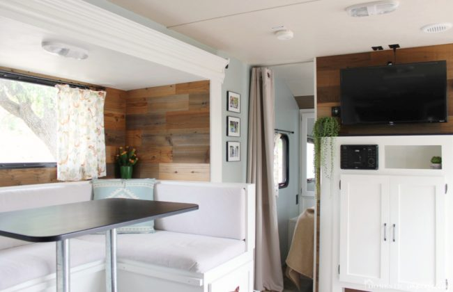 RV camper remodel